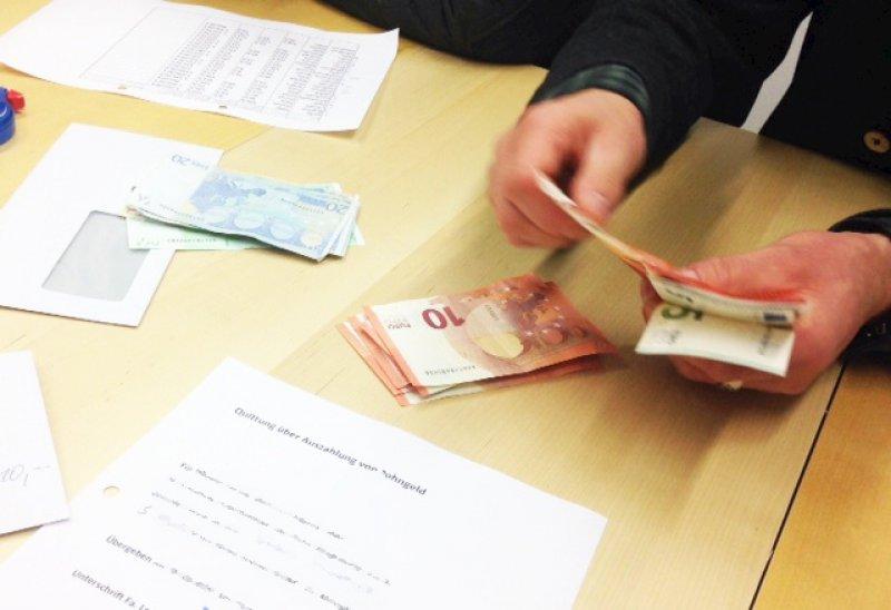 Bezahlung Fair Arbeiten In Deutschland